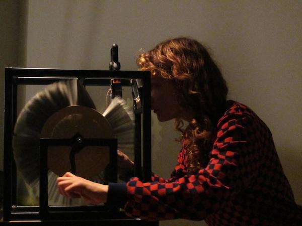 lichtklangphonogramm, Mutoscope, Melissa Garcia Cruz