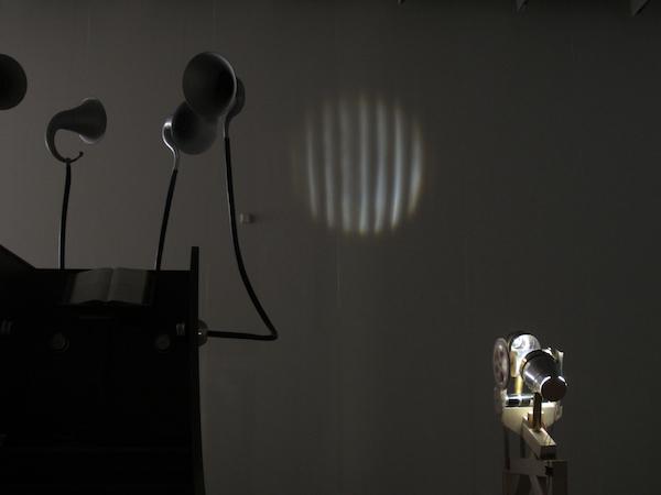 Lichtklangphonogramm, Hornbostel's Heterophony,   Aleksander Kolkowski, Matteo Marangoni, Anne Wellmer